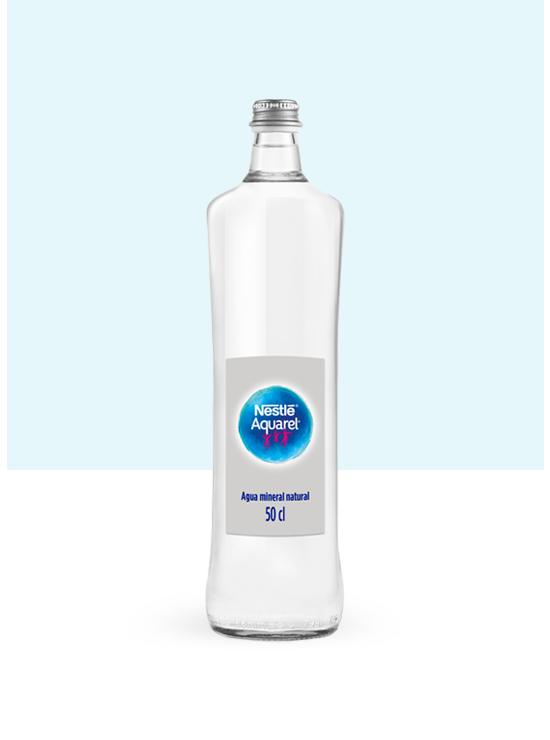 Botella de agua de Cristal 50cl