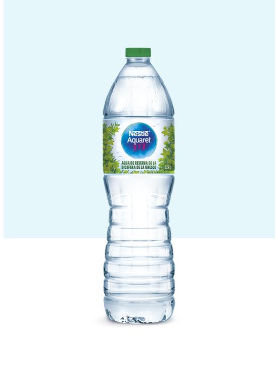 Nestlé Aquarel 1,5L y pack de 6x1,5L