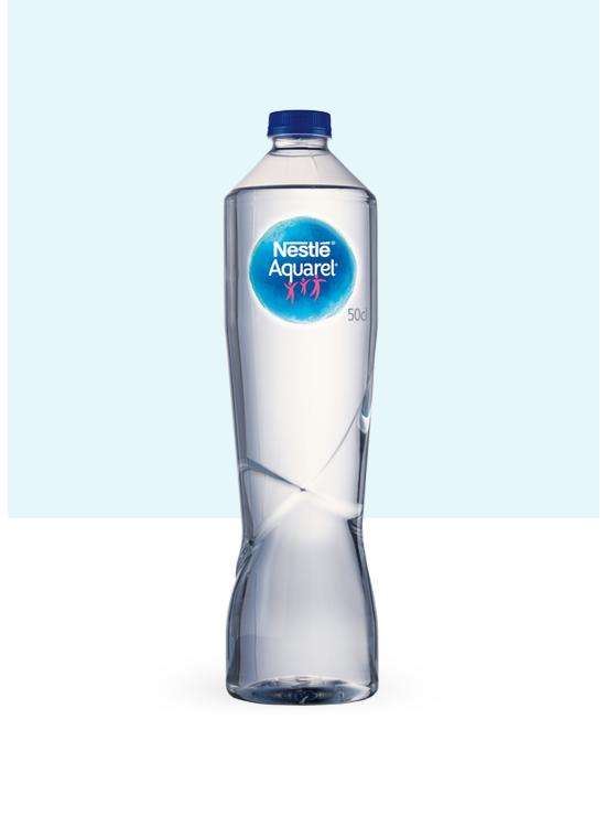 Botella de agua para hostelería PET Premium de 50 cl