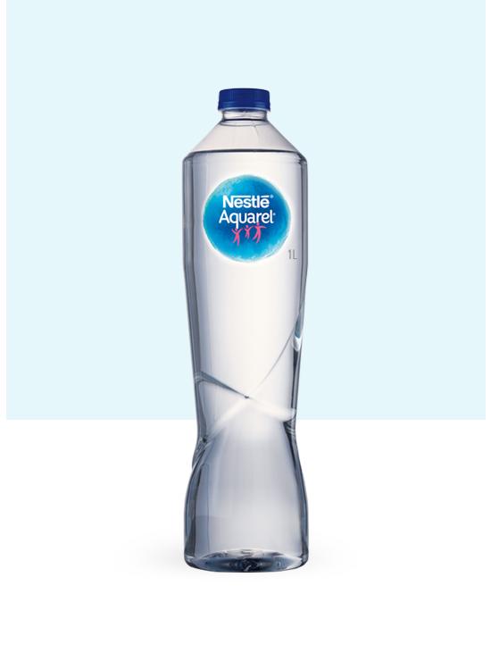 Botella de agua PET Premium de 1L