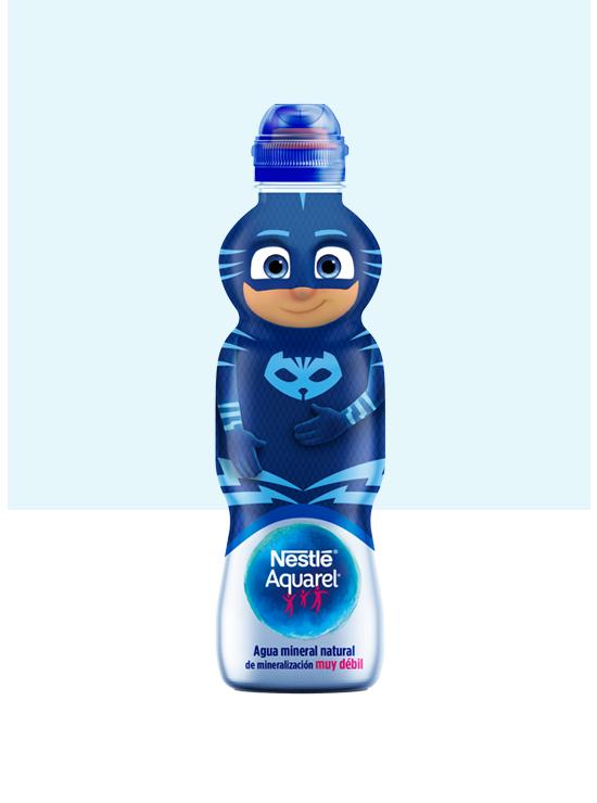 Botella de agua Personajes con Tapón Sport de 33cl